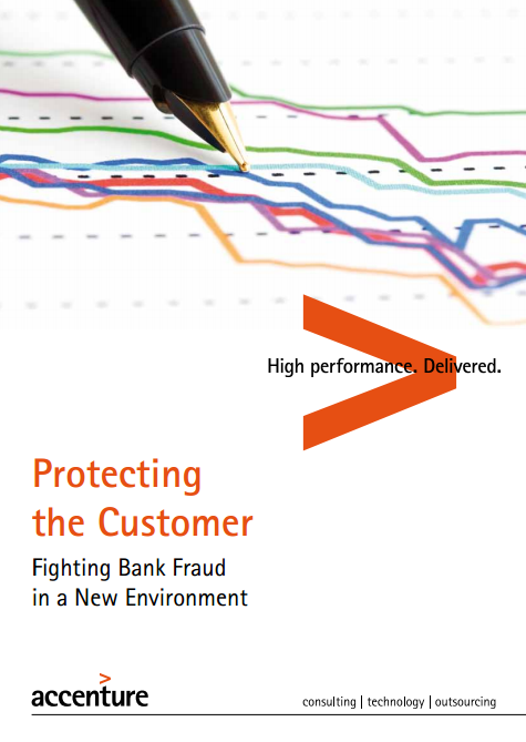 Front page - Protecting customer Accenture