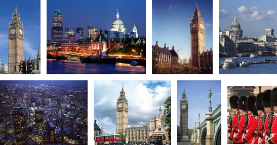 London pictures mix from Google