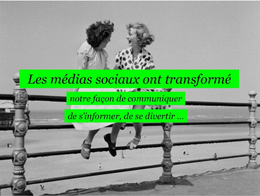 Les medias sociaux ont transforme notre facon de s'informer (source agence Vanksen)