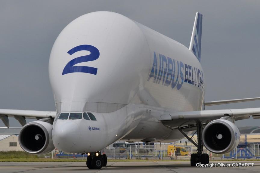 Airbus Belugo source Flickr from Olivier CABARET